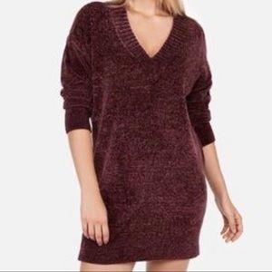 Express Chenille Sweater Shift Dress NWT Size XL